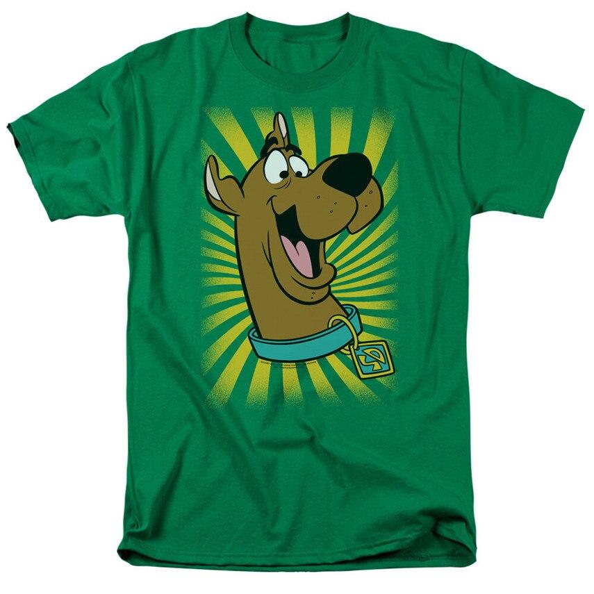 Nouveau Scooby Doo Cast Squad Abbey Vintage T-shirt Homme