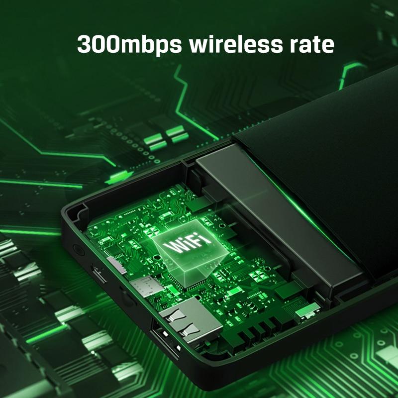 Mini modem portátil lte desbloqueado, 4g, wi-fi,