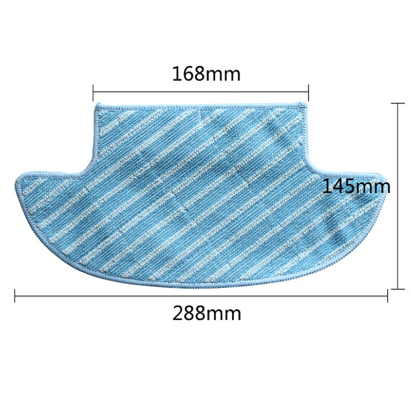Replacement Mop Cloths Set Robot Vacuum Sweeper Wipe Flooring Pads Home Appliance Parts For Ecovacs Deebot Slim DA60