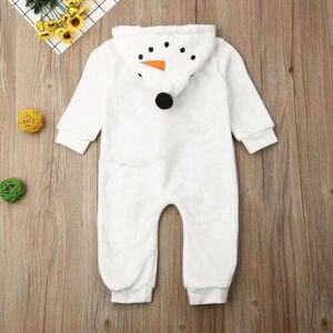 Детский брендовый комбинезон «Снеговик», «Холодное сердце», «Олаф» для мальчиков и девочек, зимняя теплая одежда
