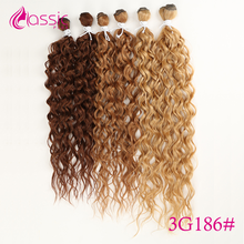 Classic Plus Deep Wave Synthetic Wigs Extensions 24-28 inch 6 Pcs Bundles for Black Women Cosplay Wigs Heat Resistant