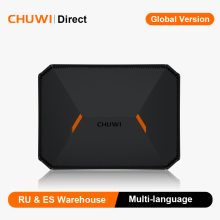 Chuwi herobox intel n4100 quad core mini pc 8gb ram 256gb ssd windows 10 desktop computador com suporte vesa hd vga 2.4g/5g wifi