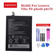 20pcs/lot Original Battery BL262 For Lenovo Vibe P2 p2a42 p2c72 Phone High Quality Li-Polymer Batteria Akku In Stock 5000mAh original 20pcs lot rclamp0524j tct 0524j slp2710p8 in stock