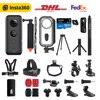 Insta360 ONE X 360 액션 카메라, 5.7K 비디오 및 18MP 사진, 유량 안정화, 실시간 WiFi 전송, 스포츠 캠
