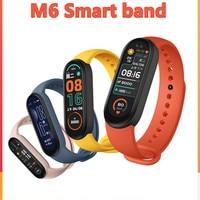 Bluetooth Smart Band Fitness Tracker cardiofrequenzimetro Smart Watch Sport impermeabile per Xiaomi M 6 Band nuovo