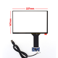 Original 10.1 Inch 16:10 227*147mm For Digma Plane Industrial Capacitive Screen Touch Screen With Controller