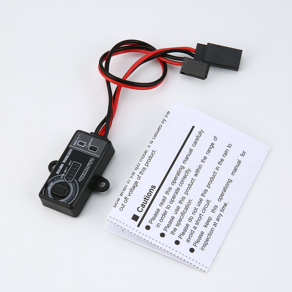 G.T.POWER 14A/5V-10V Remote Controller Electronic Switch RC Parts with LCD Display for RC UAV Quadcopter Car Drone Model