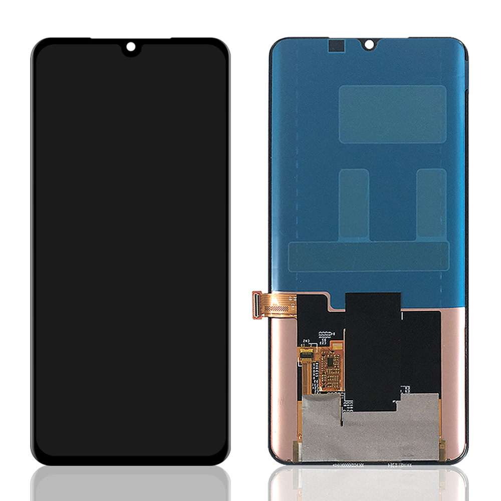 100% Amoled For Xiaomi MI Note 10 LCD Display With Touch Screen Digitizer Assembly Replacement