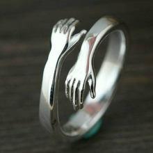 Новый Романтический ручной работы с любовью кольца «объятия»