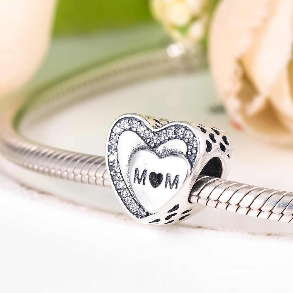 Yeni 925 ayar gümüş aşk sonsuza aile rüya Catcher boncuk Charms Fit orijinal Pandora charm bilezikler kadınlar DIY takı