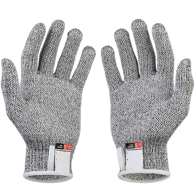 Outdoor Hunting Cut-proof Full Finger Gloves Food Grade 5 Breathable Anti-cutting Manual Cookware Butcher Protection Hand 2
