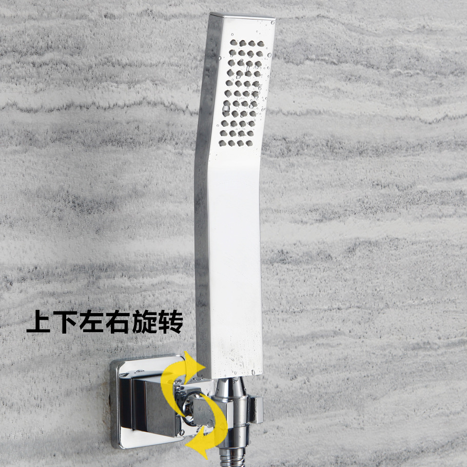 Belo De Shower Faucet Concealed Wall-in Villa Bathroom Copper Hand Shower Hotel Bed & Breakfast Only Shower