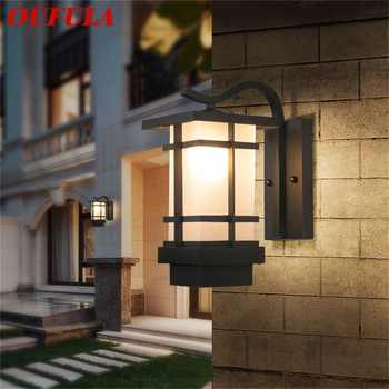 OUFULA Modern LED Wall Light Fixture Outdoor Sconce Waterproof Patio Lighting For Porch Balcony Courtyard Villa Aisle - DISCOUNT ITEM  32 OFF Lights & Lighting