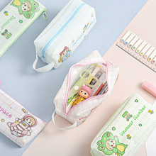 Case Pencil-Pouch Lizi Korean Stationery-Holder Large-Capacity Cute Fashion Girl Sweet
