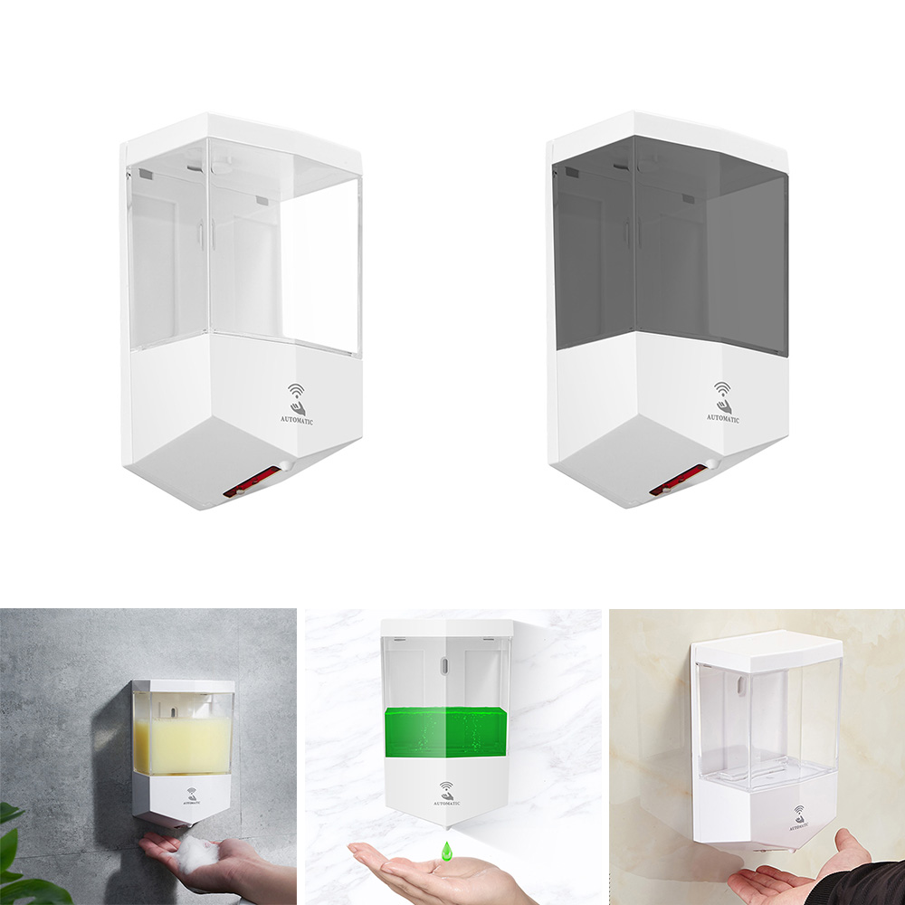 öFree ShipSoap-Dispenser Automatic Soap-Box Bath Intelligent Induction 650ML Household Wall-Mounted[