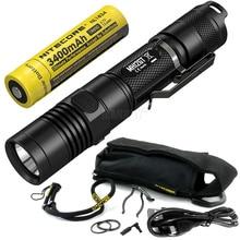 Verkauf NITECORE MH12GT 1000 Lumen LED 18650 3400mah Batterie USB Aufladbare Taschenlampe Suchen Rettungs Tragbare Taschenlampe Kostenloser Versand