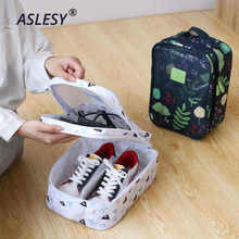 Convenient Travel Storage Shoes Bags Nylon Portable Suitcase Organizer Boxes for Clothes Wash Accessories Sorting Pouch 3 Layers