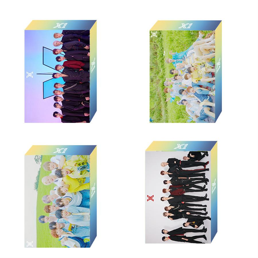 Kpop X ONE Song Hyeong Jun QUANTUM LEAP Collective Card Polaroid Lomo Photo Card HD Photocard Produce X 101 30pcs