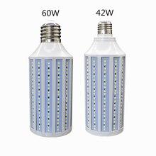 E27 светодиодный светильник переменного тока 220v лампа 42w