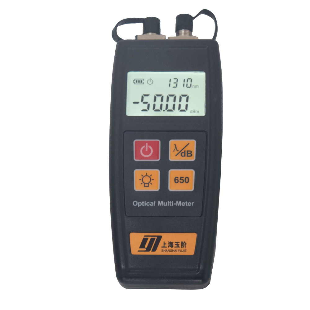 YJ-550A или YJ-550C оптоволоконный мини мультиметр оптический измеритель мощности с визуальным локатором неисправности 1 мВт 10 мВт 30 мВт 50 мВт
