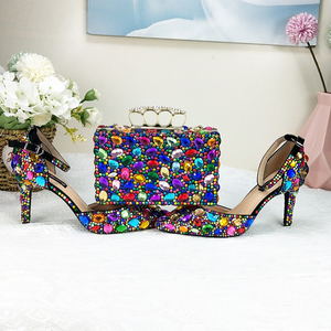 Women wedding shoes And bags S