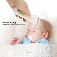 Машинка для стрижки волос для младенцев, электрическая машинка для стрижки волос, Тихая USB перезаряжаемая бритва, стрижка для детей, уход за волосами