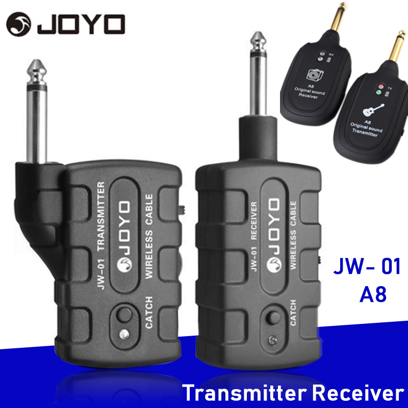 JOYO JW-01 Wireless Digital Audio System Transmitter And Receiver Long Distance Supports One To Many All Digital Signal A8