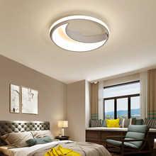 Modern LED Moon Star LED Ceiling Light Bedroom Panel Lamp Surface Mounted AC 110-220V Lamp Indoor Light Fixtures Remote Control - DISCOUNT ITEM  50% OFF Lights & Lighting
