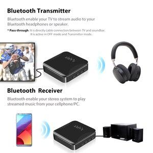 Image 5 - KEBIDU CSR8675 Bluetooth RCA Receiver 5.0 AptX LL 3.5mm Jack Aux Wireless Transmitter for TV Car RCA 3.5 Audio Receiver