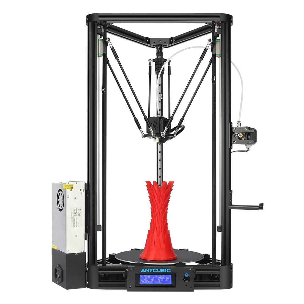 Anycubic 3D printer Kossel print Plus Size Gadget Auto Level Module Platform 3d printer Kits DIY