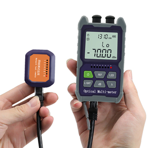 YOUYSI Mini 4 in 1 Optical Power Meter Visual Fault Locator Network Cable Test optical fiber tester 5km 15km 30KMVFL
