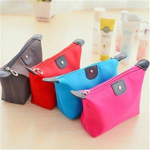 1 Pcs Make Up Organizer Bag 35g Women Nylon Travel Handbag Purse Large liner Lady Makeup Cosmetic Bag Cheap Female Tote(China)