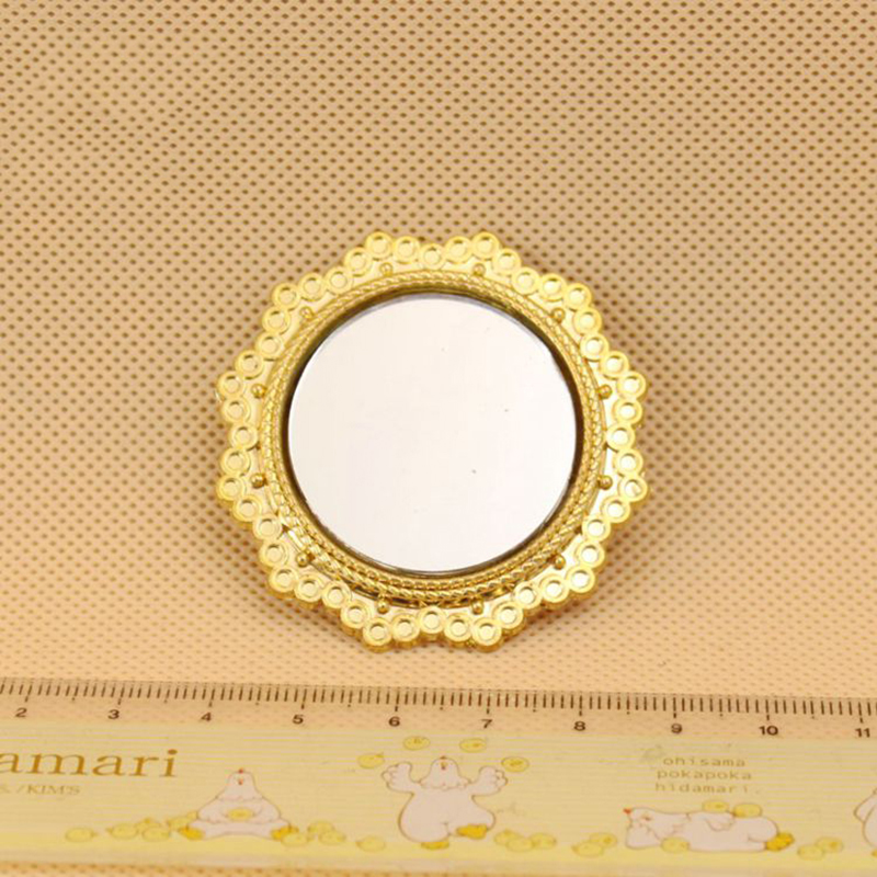 Wholesale 1:12 Dollhouse Miniature Mini Glass Mirror Doll Accessories Toy For New Collectible Gift