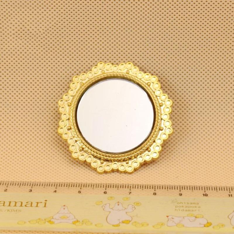 1//12 échelle Dollhouse Miniature Decor européenne Vintage Golden encadré