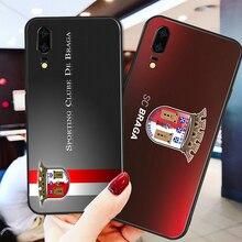 Phone Case For Braga FC Case Huawei Mate10 20X Black Soft TPU DIY Case For Nova 3 3E Nova5 P9 P10 P20 P30 Pro G10 Nova5 Pro 5i braga guilherme o bispo nova heresia em verso