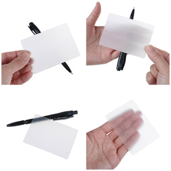 1pcs kids Tricky Gimmick Easy To Do for Beginner LensCard Perspective distortion close up street magic tricks image