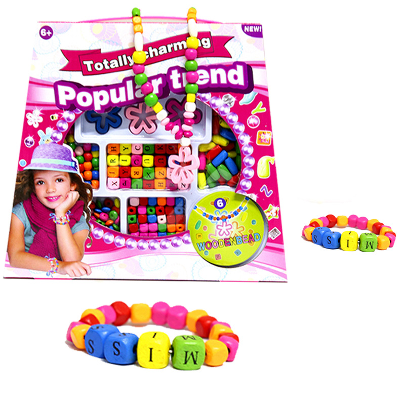 2016 New Products DIY Educational Children Bead Toy Creative DIY Handmade Educational Toy Early Education CHILDREN'S Toy