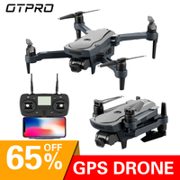 OTPRO Dron 4K HD GPS drone WiFi fpv Quadcopter brushless motor servo camera intelligent return drone with camera TOYS VS X9
