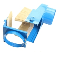 Gtbl cnc coletor de cobertura de poeira escova cnc aspirador de pó para cnc eixo do motor fresadora