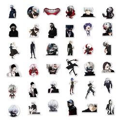 Tokyo Ghoul 10/30/50 Anime Stickers PCS Kirishima Ayato Cartoon Kaneki Ken Figure Movie Collection Bottle Graffiti Luggage Figma