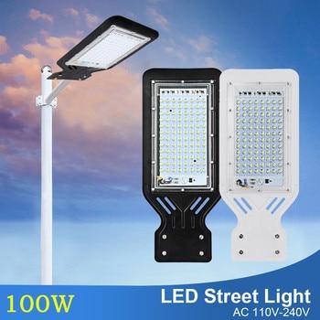 LED Flood light 100W Outdoor lighting Wall Lamp AC110V 220V 240V IP65 Waterproof Led Street Light Industrial Garden Area Parking цена 2017