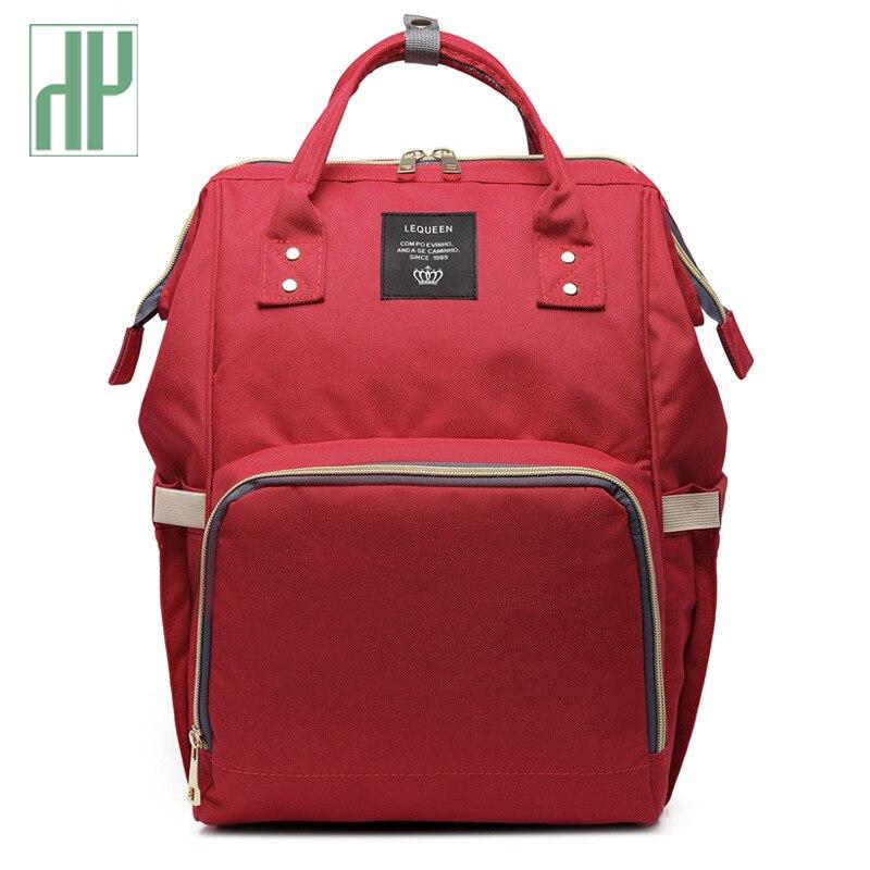 Mummy Maternity Nappy Bag Brand Large Capacity Baby Bag Travel Backpack Designer Nursing Bag For Baby Care