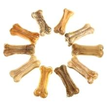 HHO-MOYUAN 10 x жевательные Кости Собака жевательные кости уход за зубами лечит кожу буйвола
