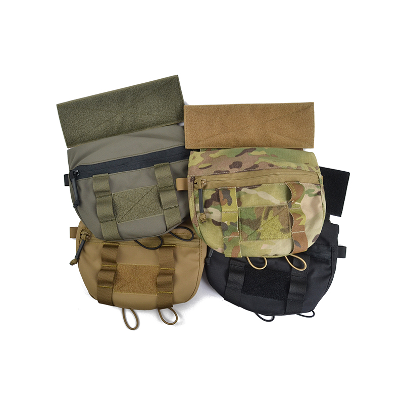 Delustered Tailor Tactical Plate Carrier Lower Accessory Pouch CAG Delta Navy Seal DEVGRU Airsoft Military Marsoc TW-P076