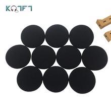 цена на KQTFT Soft Foam Replacement Ear pad for Aiwa HPA272 HPMO46 Headset Sleeve Sponge Tip Cover Earbud Cushion