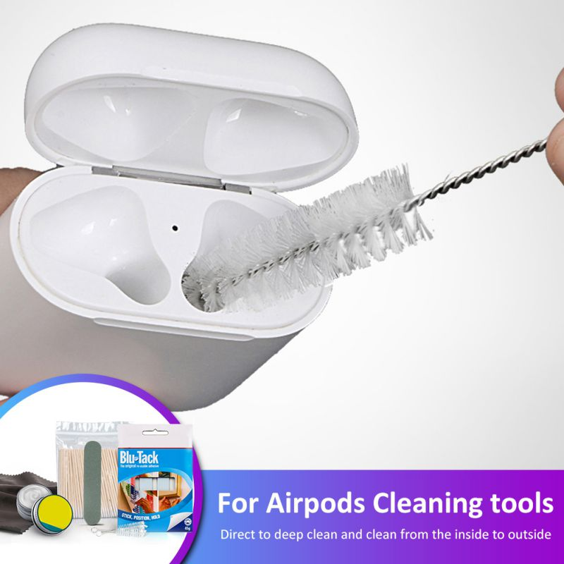 High Quality Cleaning Glue Kit For Airpods Adhesive Wireless Headphone Charging Case Cleaner Clean Tool Accessories & Parts