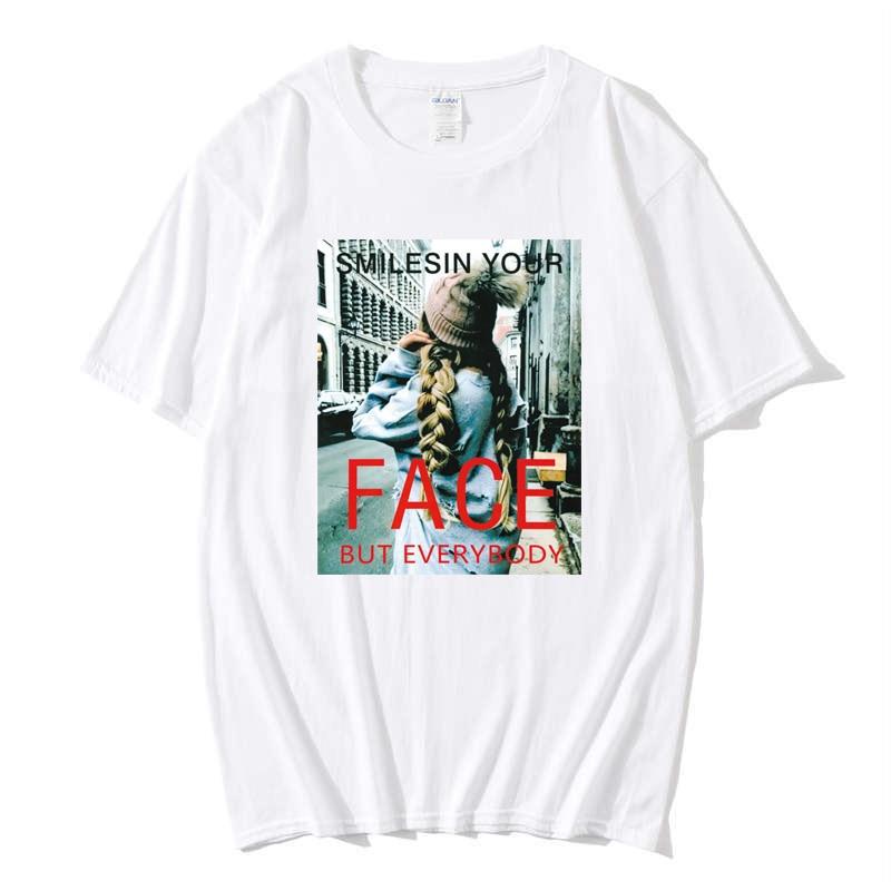 Hot Tide Brand Men T-Shirt O-Neck Streetwear Letter Painting Creativity Print Tees Short Sleeve Summer Men T Shirts Cotton XXL