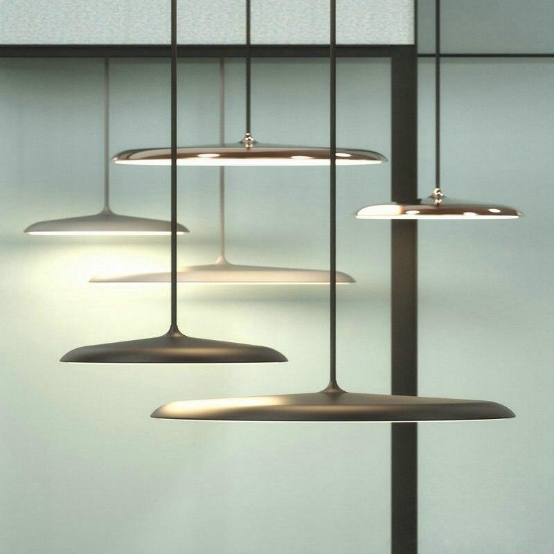Suspension scandinave UFO Art moderne Restaurant Design Simple luminaire suspendu Bar créatif éclairage intérieur lampe suspendue