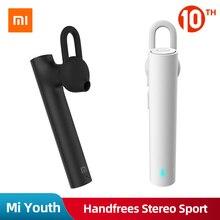 Original Xiaomi Mi Wireless Mini Bluetooth Earphone Youth Edition Handfrees Ster