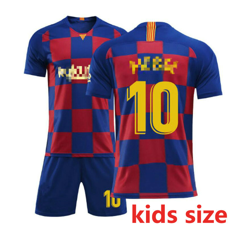 2019/2020 Fashion kids Clothing T Shirt XXS-2XL Barcelona costume